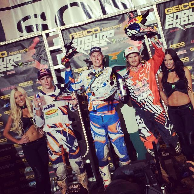 Cody Webb y Sandra Gómez triunfan en el Endurocross AMA de Salt Lake City