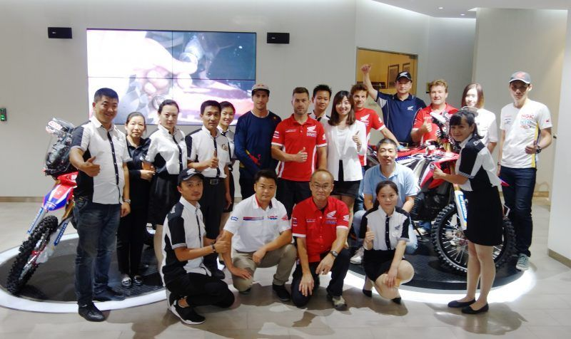 El Team HRC debuta en el China Grand Rally 2016