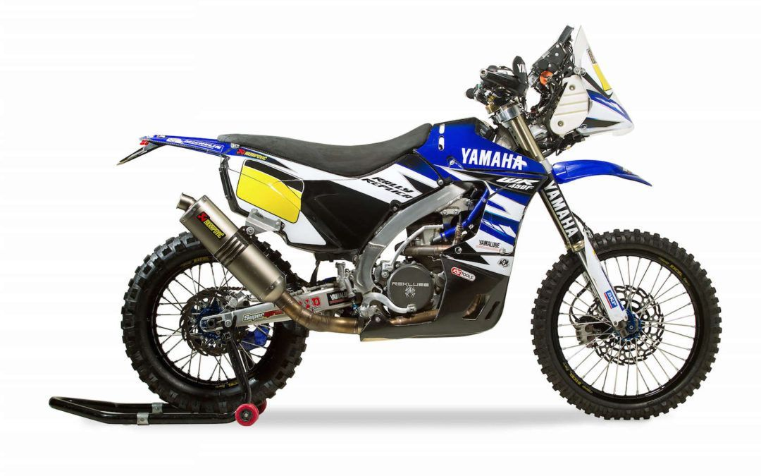 Ya está disponible la Yamaha WR 450F Rally Réplica