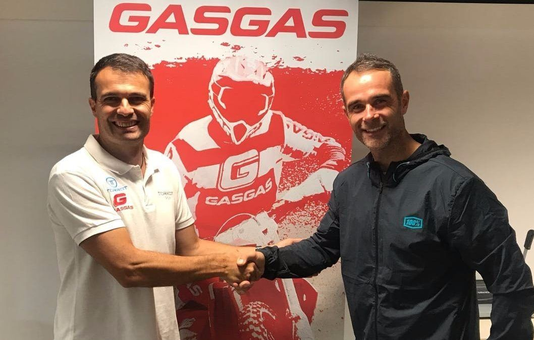 El Gas Gas Enduro Factory Team anuncia el fichaje de Johnny Aubert