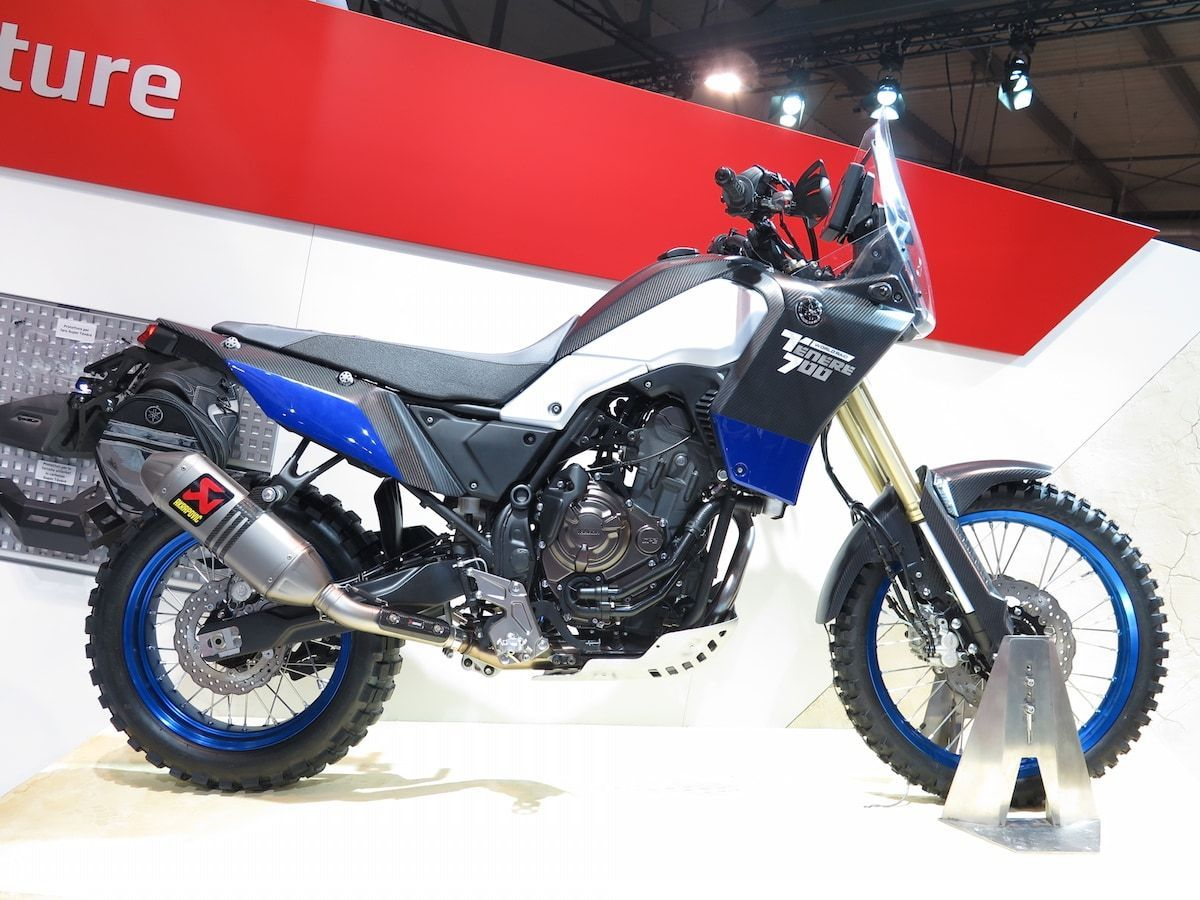 El boom de las trail adventure en pleno auge repasemos for Yamaha tenere 700