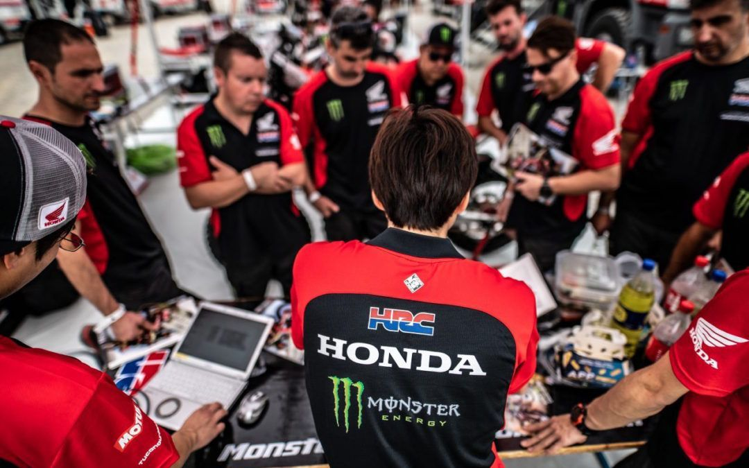 El Monster Energy Honda repasa el Dakar 2019