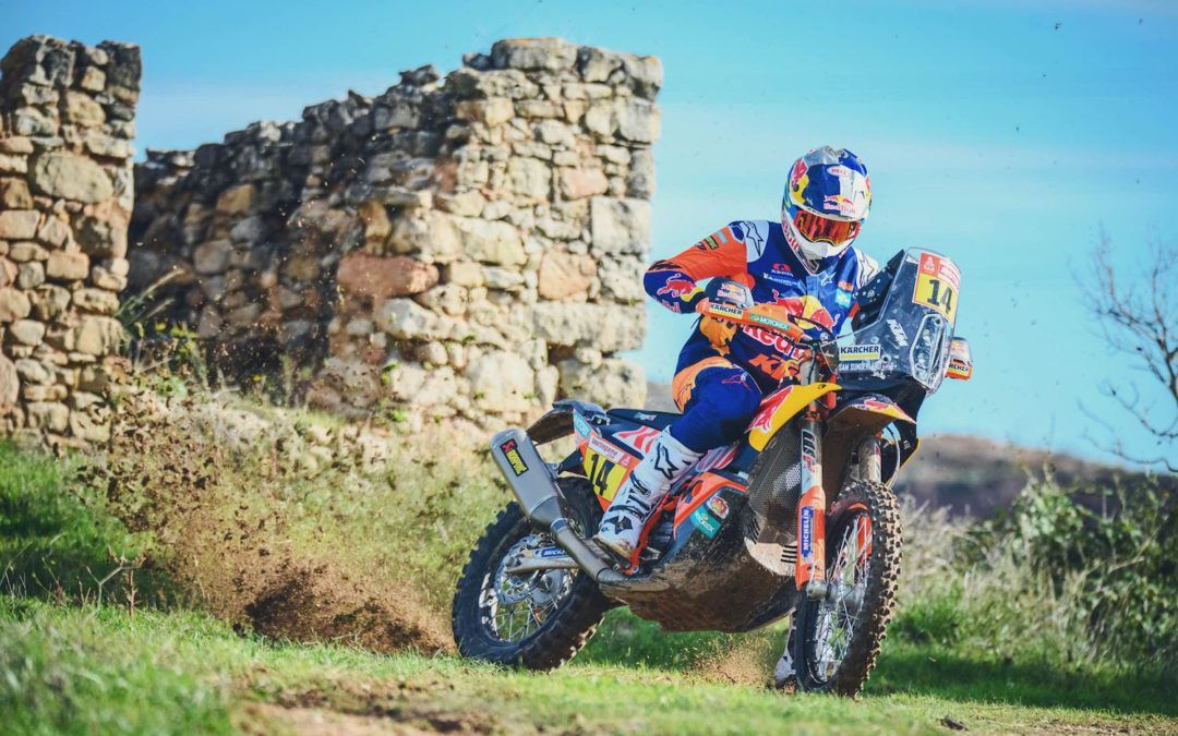 El Red Bull KTM Factory Racing listo para el Silk Way Rally