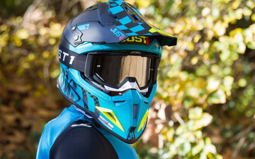 Test casco integral Just1 J12 Pro Racer Carbono