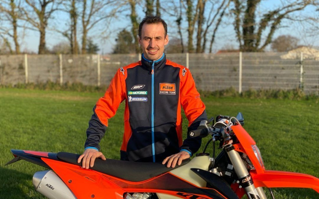 Christophe Nambotin regresa a KTM