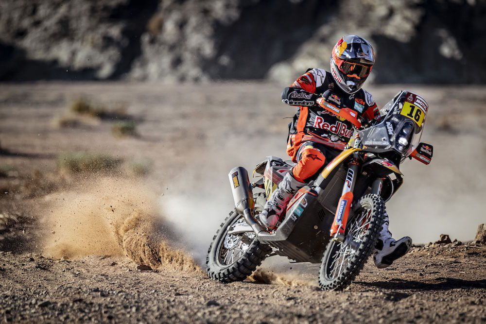 Vídeo del equipo Red Bull KTM Factory Racing en el Dakar 2020