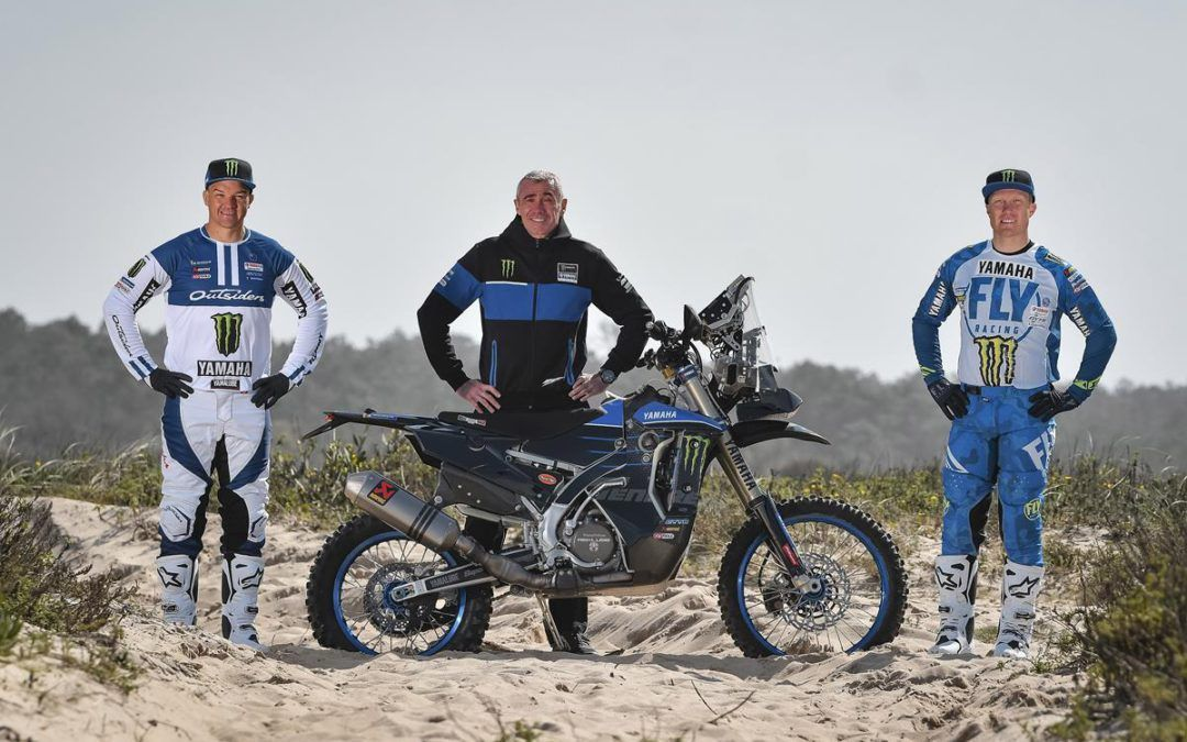 El Monster Energy Yamaha Rally, amplía el equipo con Andrew Short y Ross Branch