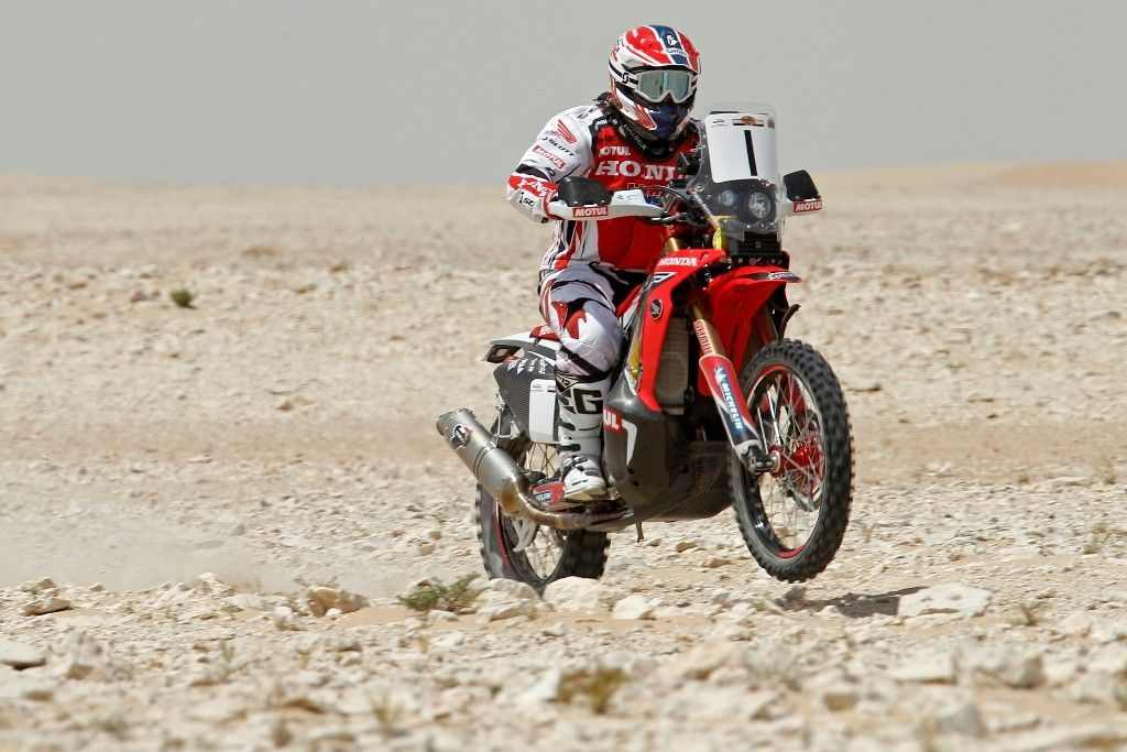 'Bang Bang' Barreda abre el Sealine  Cross –Country Rally con una nueva victoria para Honda