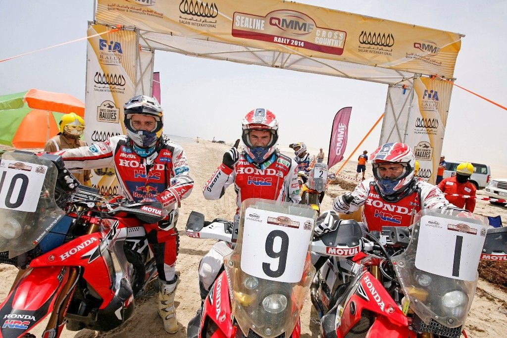 Joan Barreda Honda Team HRC, gana el Rally Sealine Cross Country en Qatar