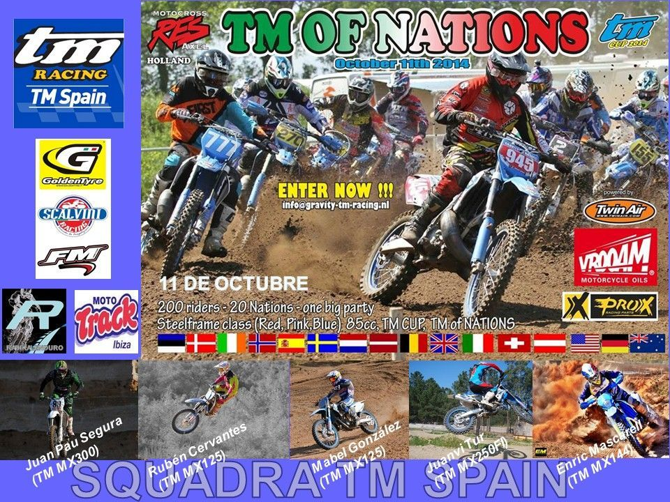 El equipo de TM Spain buscará el pódium en el TM of Nations de Holanda