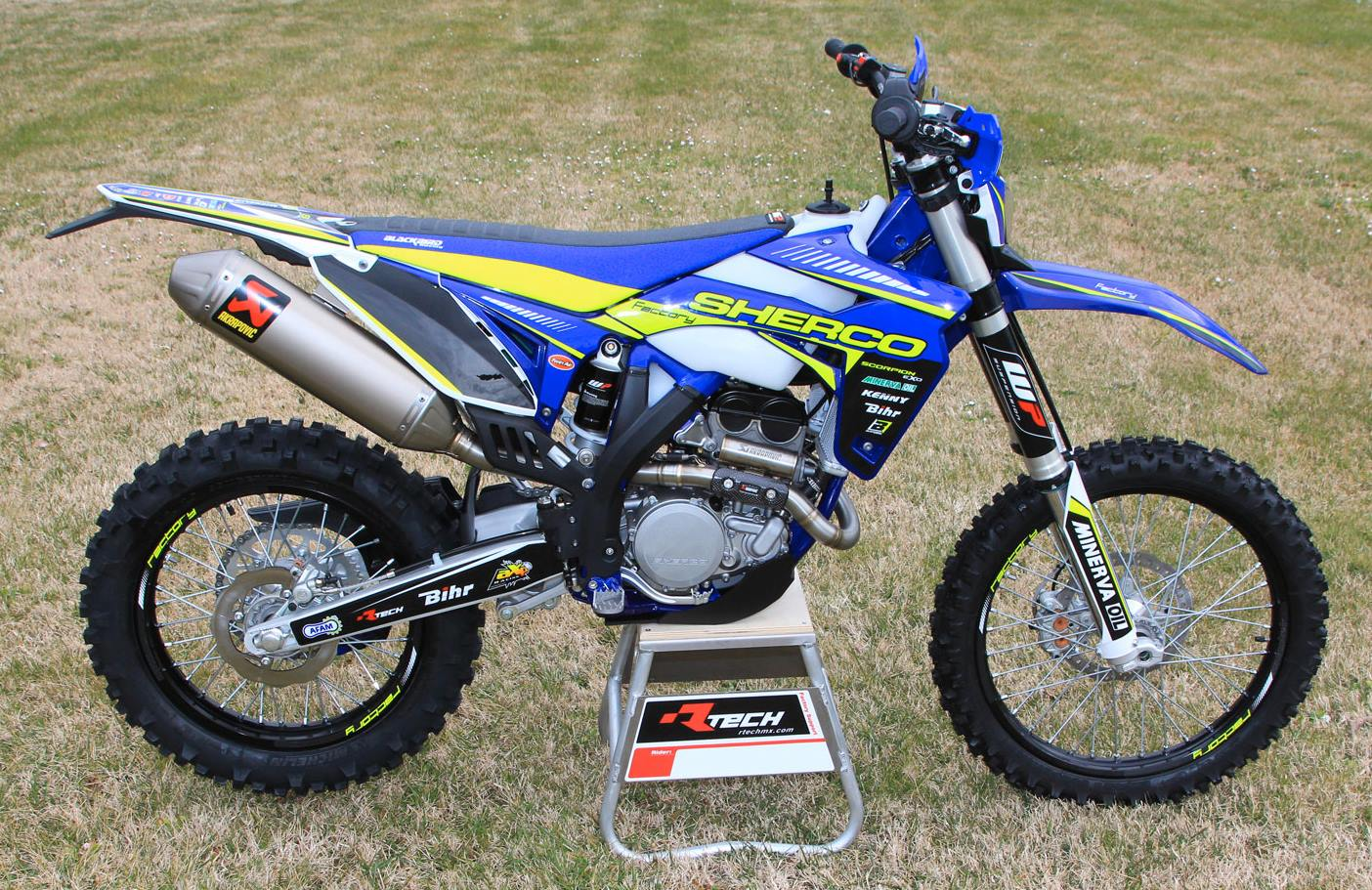Llegan las exclusivas Sherco Factory 2015