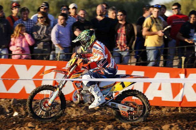 Matthew Phillips se impone en el Super Test del GP Acerbis de Chile