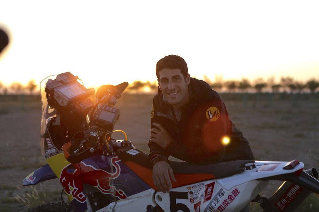 Armand Monleón, campeón del China Silk Road Rally