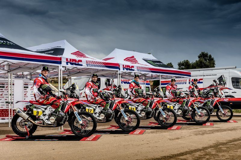 Monster Energy se une al Team HRC para luchar por el Rally Dakar