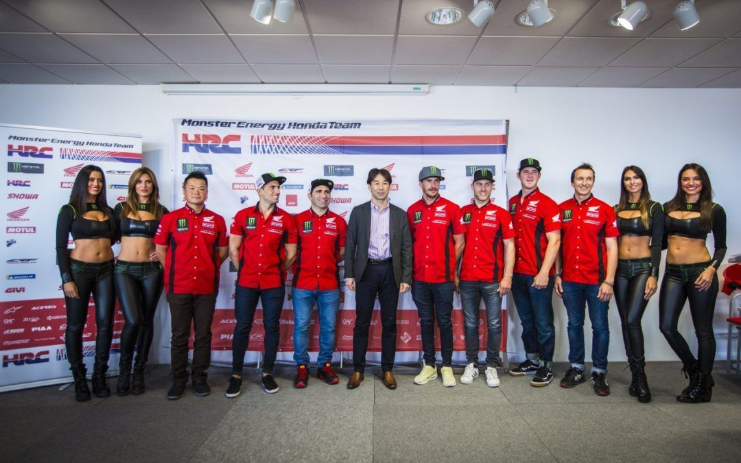 El Monster Energy Honda Team celebra el 'Dakar Day' 2018