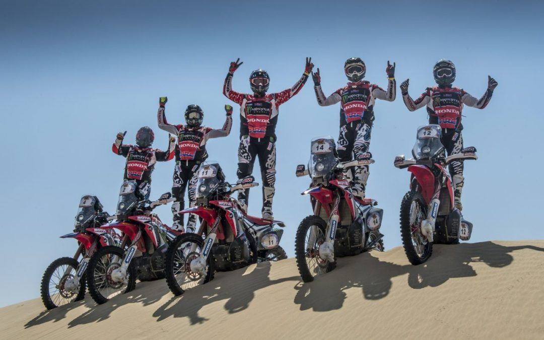 El Monster Energy Honda Team arranca la temporada 2018 en Abu Dabi