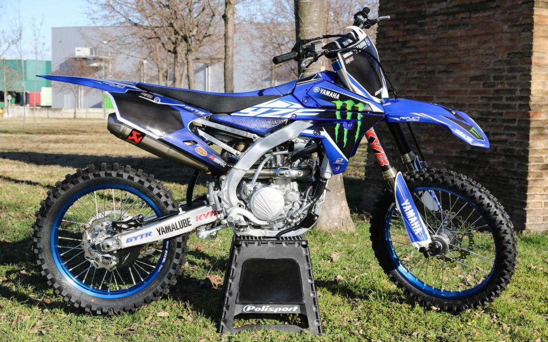 Disponible la Yamaha YZ250F MX2 Réplica Series