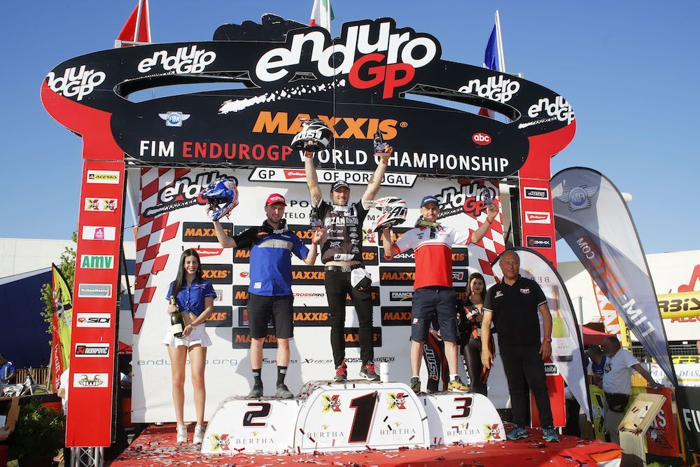 GP Portugal día 1: Alex Salvini sigue sorprendiendo en Mundial de Enduro
