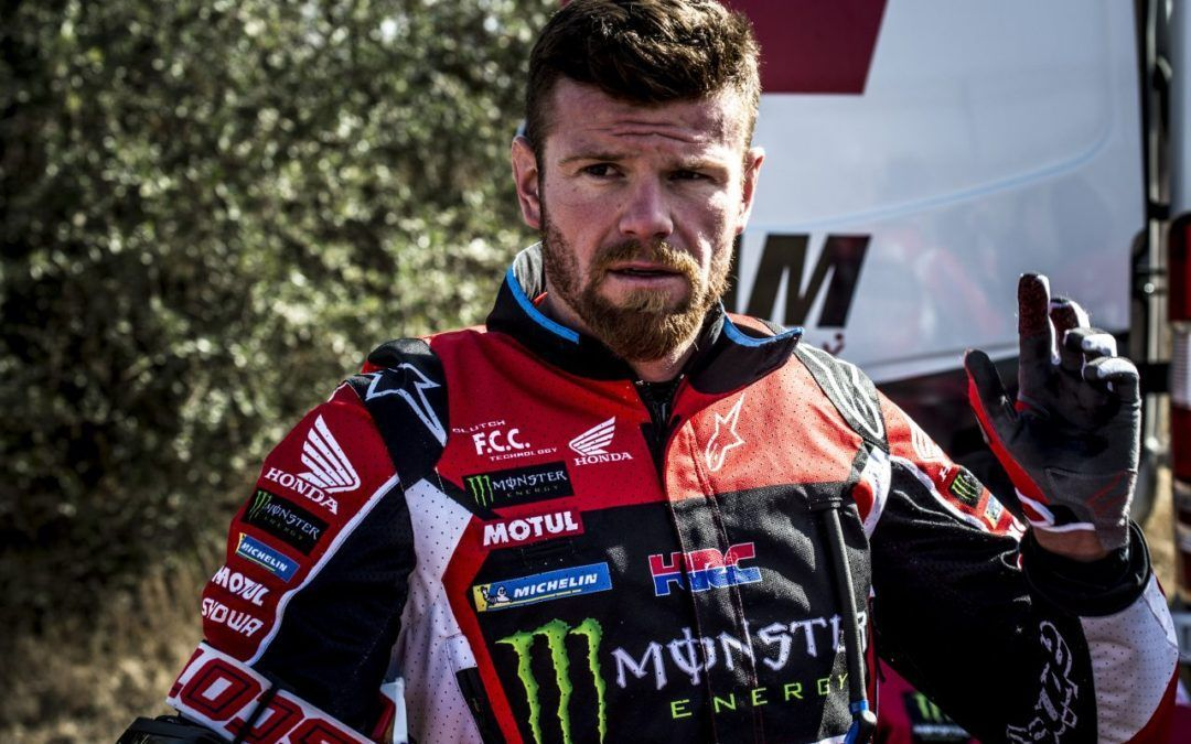 Mathias Bellino en el equipo Monster Energy Honda Team