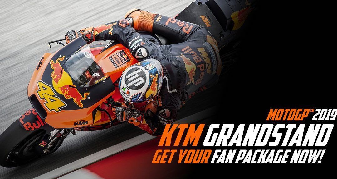 !KTM Fan tribune en el 2019¡
