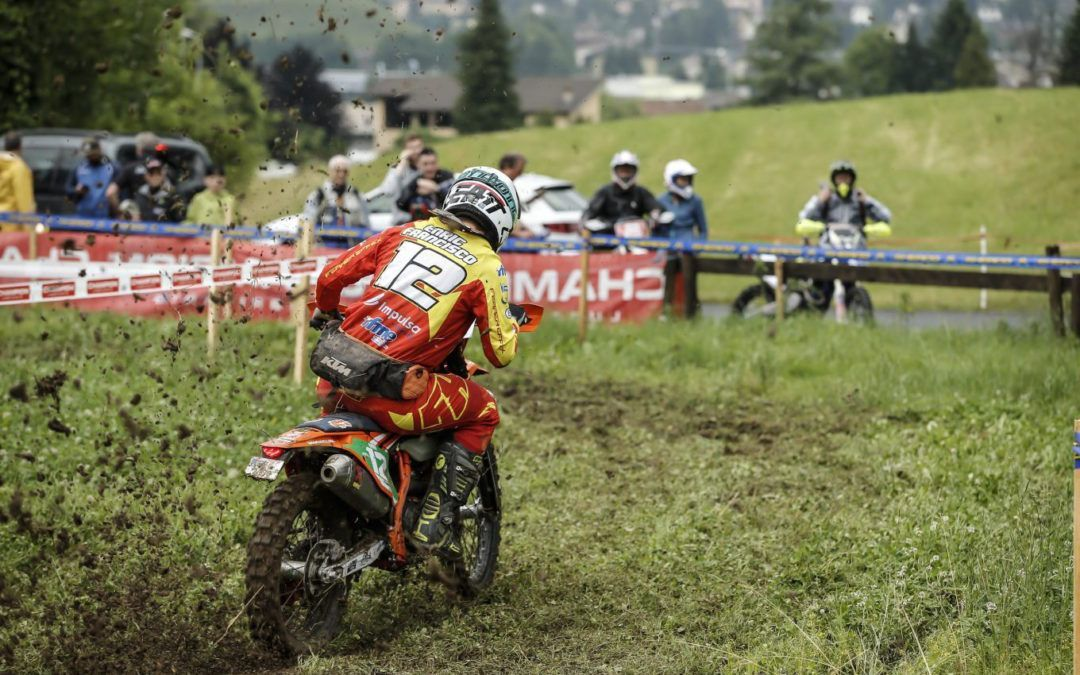 Enric Francisco salva los muebles del RFME Enduro Júnior Team en el GP de Italia