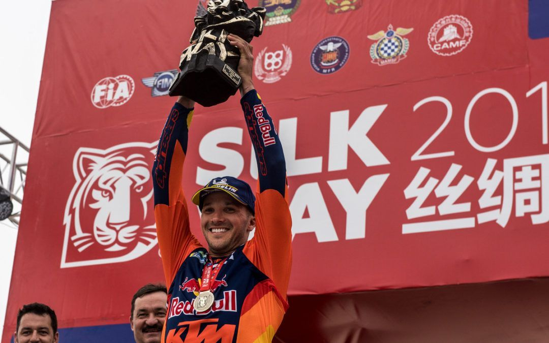 ¡Gran victoria de Sam Sunderland en el Silk Way Rally!