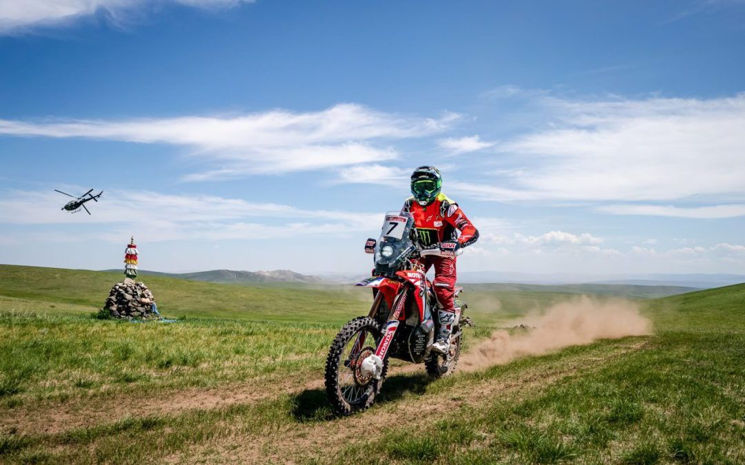 Kevin Benavides imparable en la 3ª etapa del Silk Way Rally