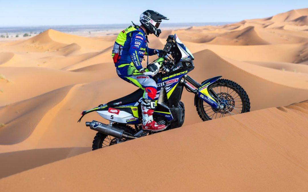 Camino al Dakar 2020: Johnny Aubert