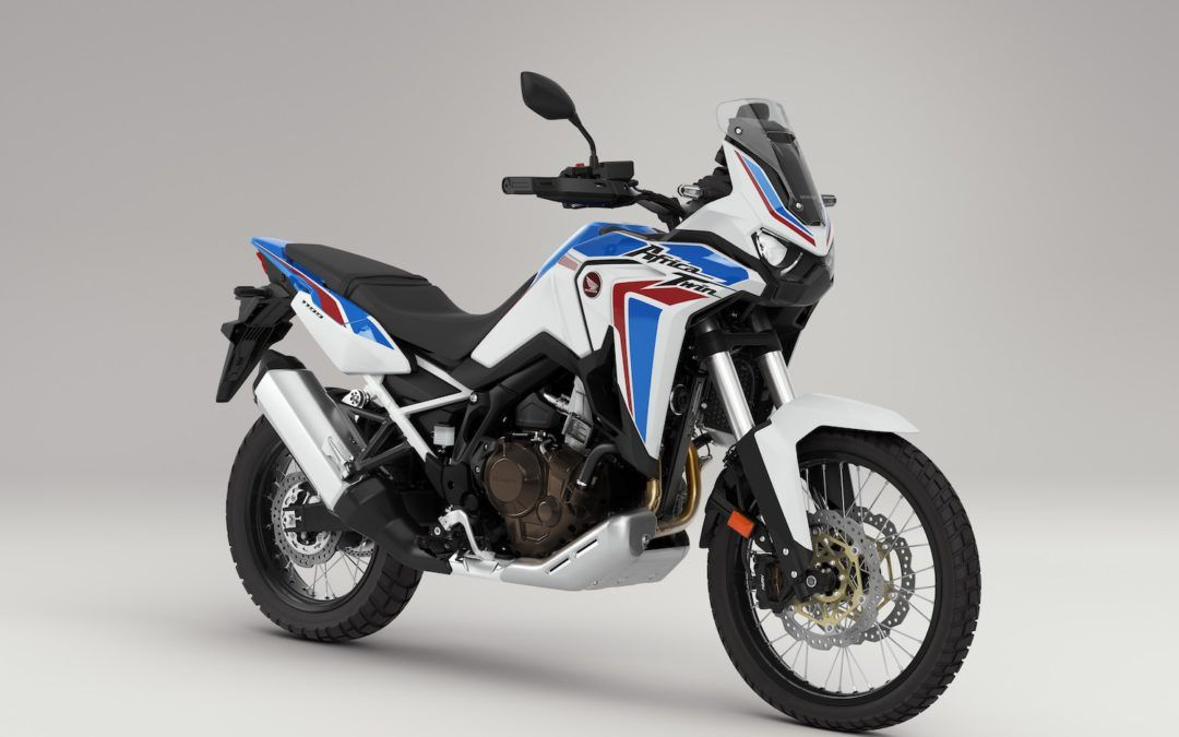 Honda CRF1100L Africa Twin MY 21 disponible en tricolor