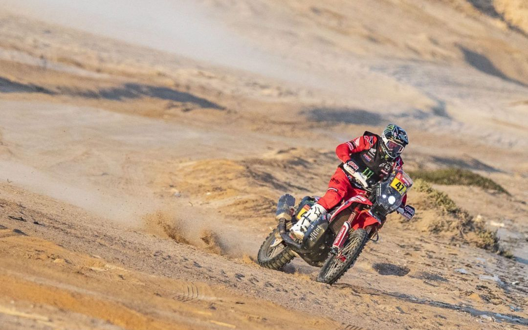 Imparable el Monster Energy Honda Team que encabeza el rally Dakar 2021 tras la 9ª etapa