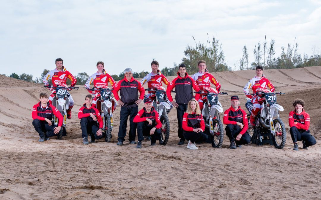 Presentación del Team Fantic Factory Maddii Racing para MX